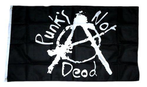 Fahne / Flagge Punks not Dead 90 x 150 cm