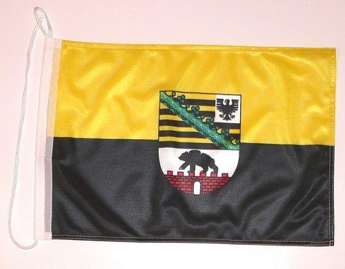 Bootsflagge Sachsen Anhalt 30 x 45 cm