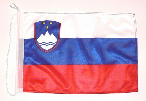 Bootsflagge Slowenien 30 x 45 cm