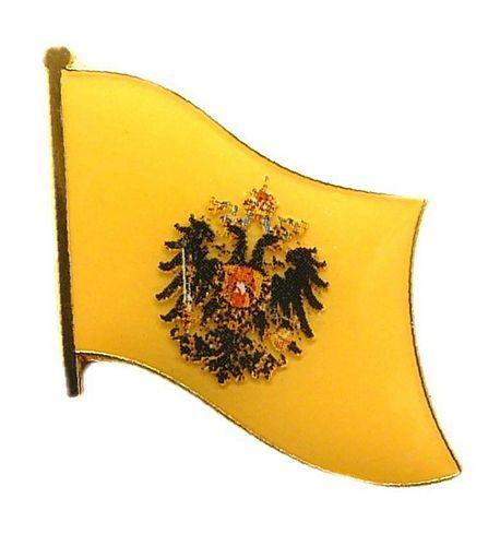 Flaggen Pin Österreich Ungarn Adler NEU Fahne Flagge Anstecknadel