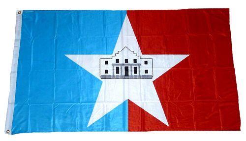 Fahne / Flagge USA - San Antonio 90 x 150 cm