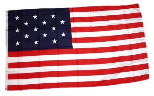 Fahne / Flagge USA 15 Sterne 90 x 150 cm