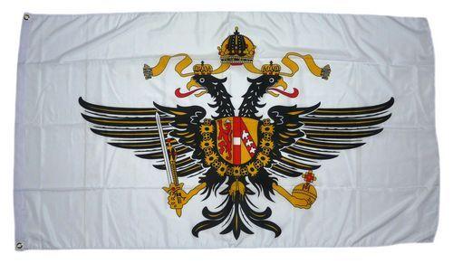 Fahne / Flagge Großbritannien Queens Dragoon Guards 90 x 150 cm