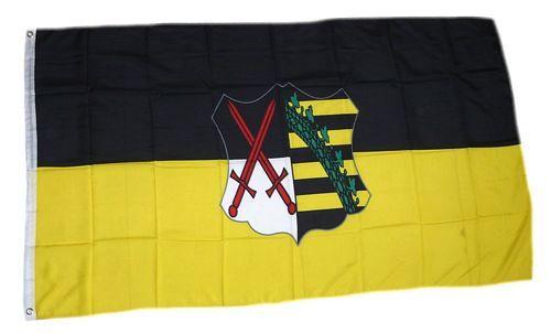 Fahne / Flagge Kurfürstentum Sachsen 90 x 150 cm
