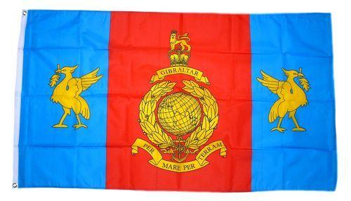 Fahne / Flagge Großbritannien Royal Marines Reserve Merseyside 90 x 150 cm