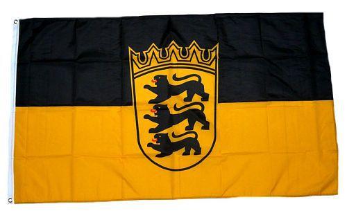 Flagge / Fahne Baden Württemberg Hissflagge 90 x 150 cm