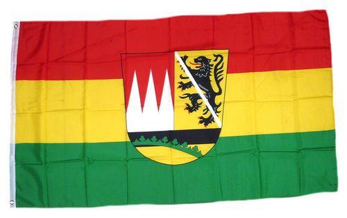 Flagge / Fahne Landkreis Haßberge Hissflagge 90 x 150 cm