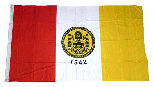 Fahne / Flagge USA - San Diego 90 x 150 cm