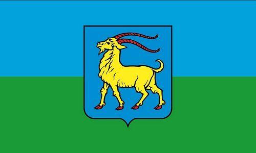 Fahne / Flagge Kroatien - Istrien 90 x 150 cm