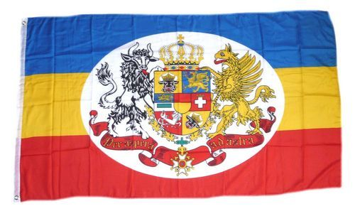 Flagge Fahne Mecklenburg Strelitz 90 x 150 cm