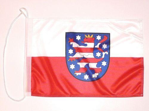 Bootsflagge Thüringen 30 x 45 cm