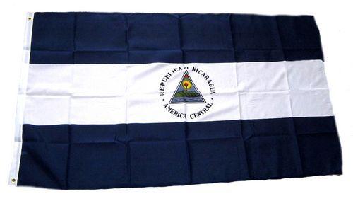 Flagge / Fahne Nicaragua Hissflagge 90 x 150 cm