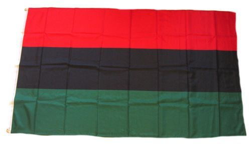 Fahne / Flagge Afro Amerikaner 90 x 150 cm