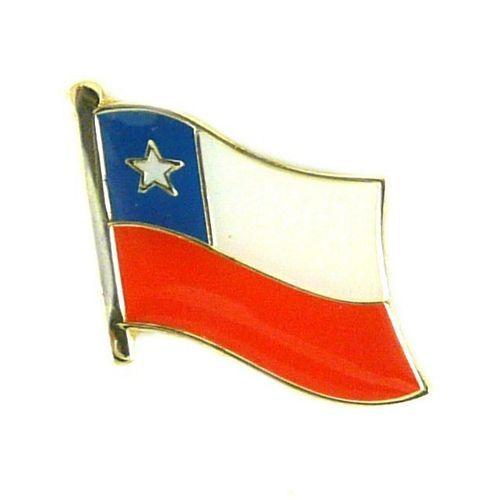 Flaggen Pin Fahne Chile Pins NEU Anstecknadel Flagge