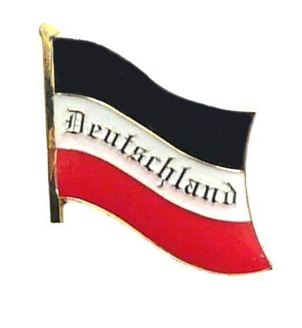 Fahnen Anstecker Pin Deutsches Reich Deutschland