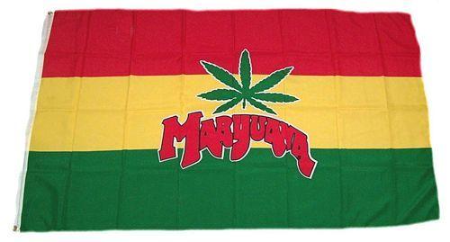 Fahne / Flagge Marijuana 90 x 150 cm