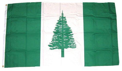 Flagge / Fahne Norfolkinsel Hissflagge 90 x 150 cm