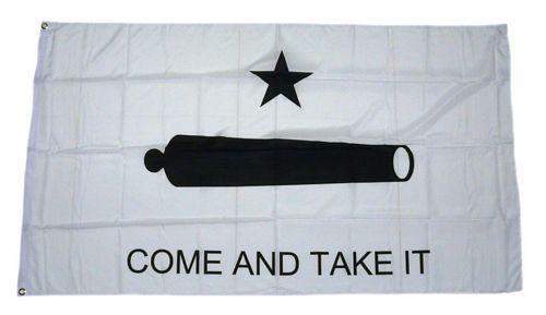Fahne / Flagge Texas Come and Take it 90 x 150 cm