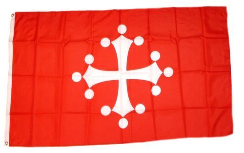 Toskana Hissflagge 90 x 150 cm Fahne Italien Flagge