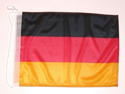 Bootsflagge Deutschland 30 x 45 cm