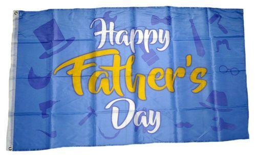 Fahne / Flagge Happy Father Day 90 x 150 cm