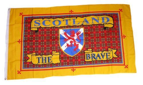 Fahne / Flagge Schottland - The Brave 90 x 150 cm