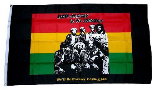Fahne / Flagge Bob Marley The Wailers 90 x 150 cm
