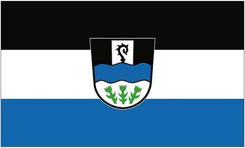 Fahne / Flagge Mitterteich 90 x 150 cm