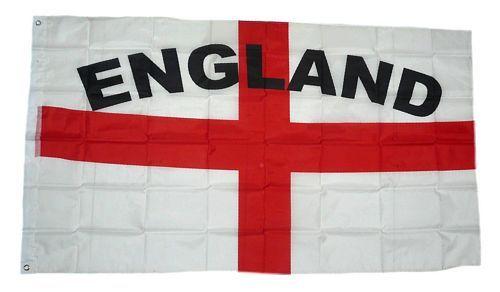 Fahne / Flagge England Schrift NEU 90 x 150 cm