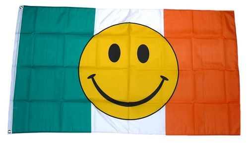 Fahne / Flagge Irland Smile 90 x 150 cm