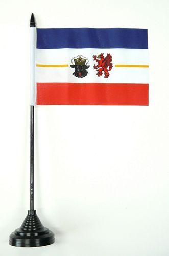 Tischflagge Mecklenburg Vorpommern 11 x 16 cm Flaggen