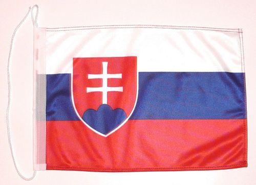 Bootsflagge Slowakei 30 x 45 cm