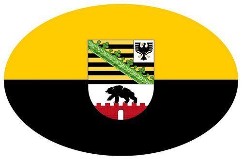 Wappen Aufkleber Sticker Sachsen Anhalt