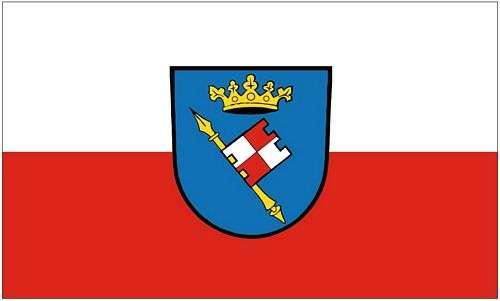 90 x 150 cm Fahnen Flagge Lauda Königshofen Digitaldruck