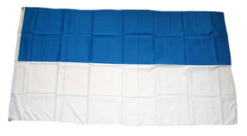 Fahne / Flagge Schützenfest blau / weiß 150 x 250 cm