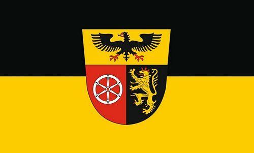 Fahne / Flagge Landkreis Mainz Bingen 90 x 150 cm
