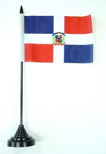 Tischflagge Dominikanische Republik 11 x 16 cm Fahnen
