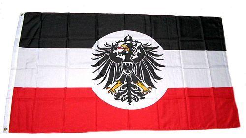 Fahne / Flagge Deutsches Reich Kolonialamt 90 x 150 cm