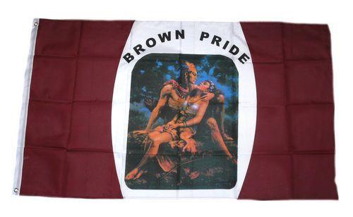 Fahne / Flagge Brown Pride 90 x 150 cm