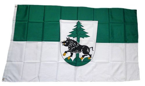 Flagge / Fahne Landkreis Ebersberg Hissflagge 90 x 150 cm
