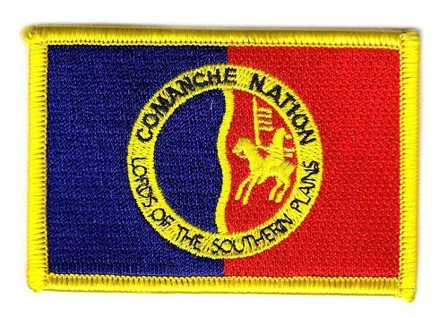 Fahnen Aufnäher Indianer - Comanche Nation