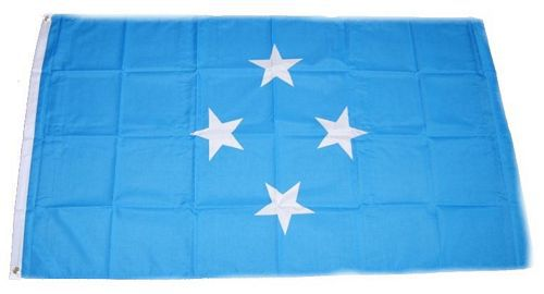 Flagge / Fahne Mikronesien Hissflagge 90 x 150 cm
