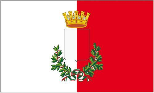 Fahne / Flagge Italien - Bari 90 x 150 cm