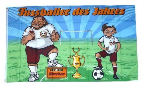 Fahne / Flagge Fußballer des Jahres 90 x 150 cm