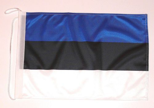 Bootsflagge Estland 30 x 45 cm