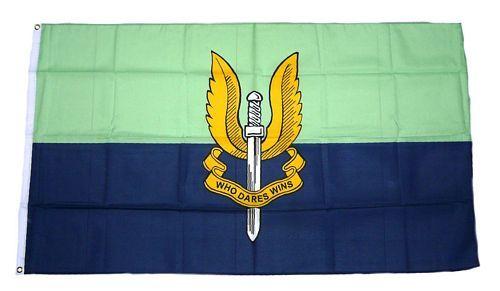 Fahne / Flagge Großbritannien Special Air Service blue 90 x 150 cm