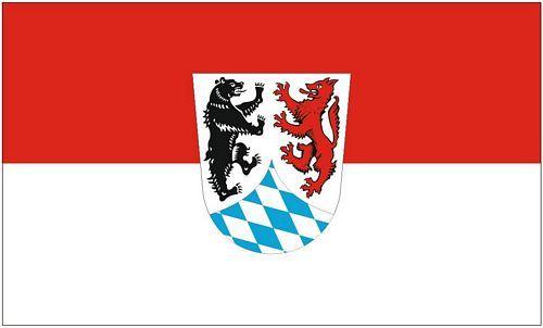 Fahne / Flagge Landkreis Freyung Grafenau 90 x 150 cm