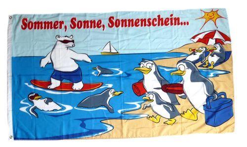 Fahne / Flagge Strandflagge Urlaub 90 x 150 cm