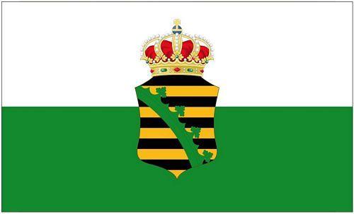 Fahne / Flagge Herzogtum Sachsen Altenburg 90 x 150 cm