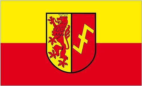 Fahne / Flagge Erwitte 90 x 150 cm
